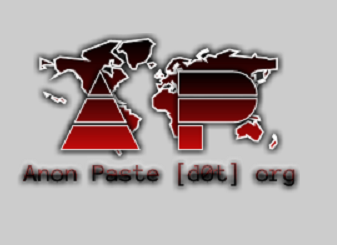 Hacktivists Introduce AnonPaste, Anonymous Pastebin
