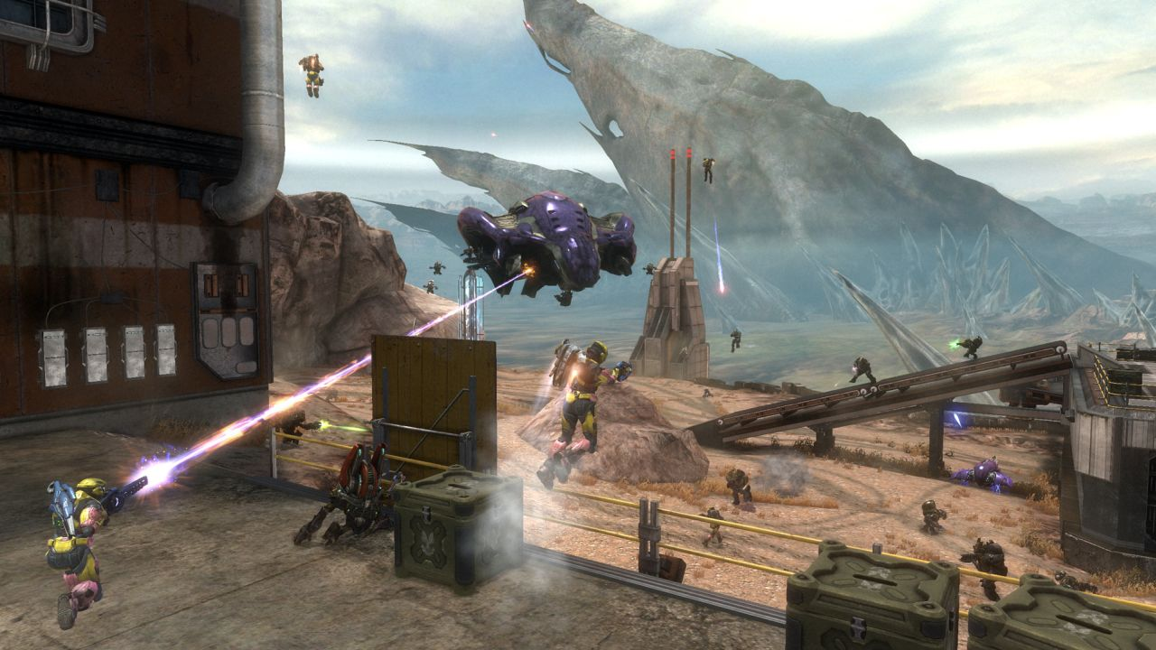 Halo: Reach Defiant Map Pack Get Release Date and Screenshots