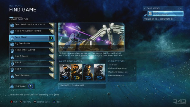 Halo Master Chief Collection Shows Off New Matchmaking Feature - GameSpot