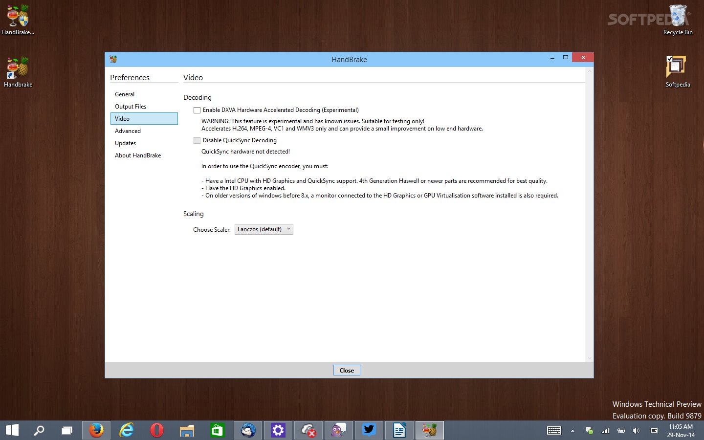 Handbrake Drops Windows XP Support in Version 0 10 0