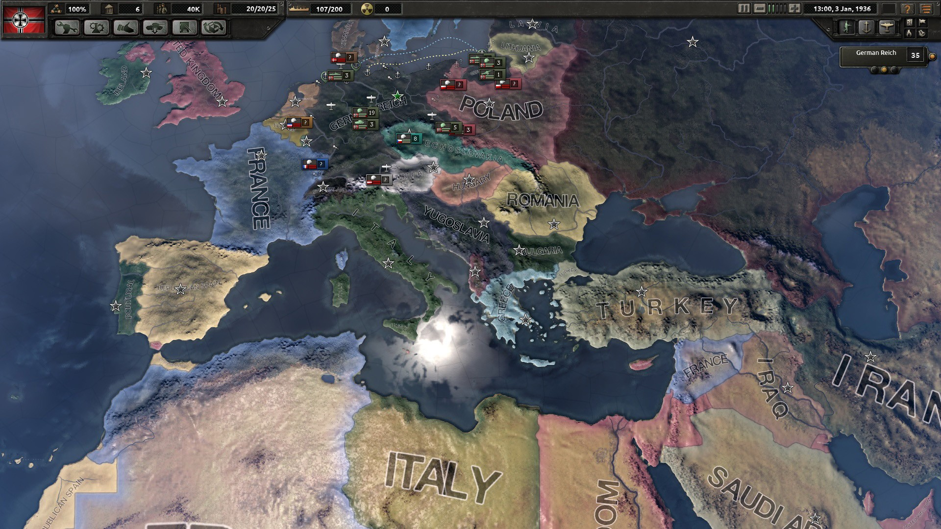 Hearts Of Iron Iv Reveals Improved Map Weather Impact