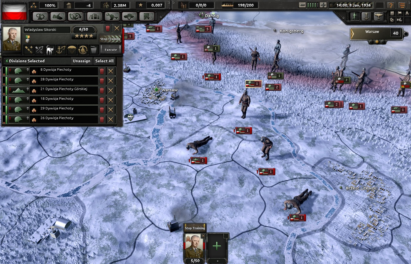 the heart of iron_Hearts of Iron IV Will Offer More Control over Division Creation and Training