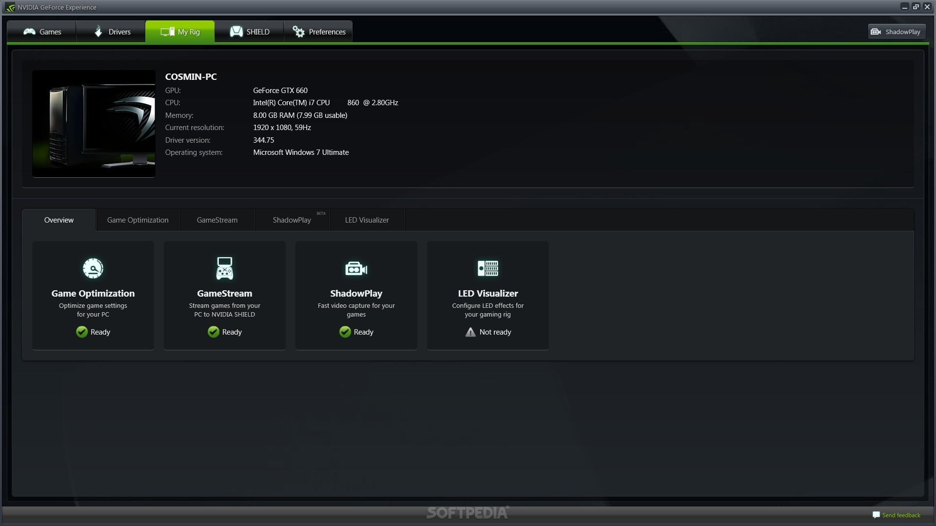 Nvidia Game Settings