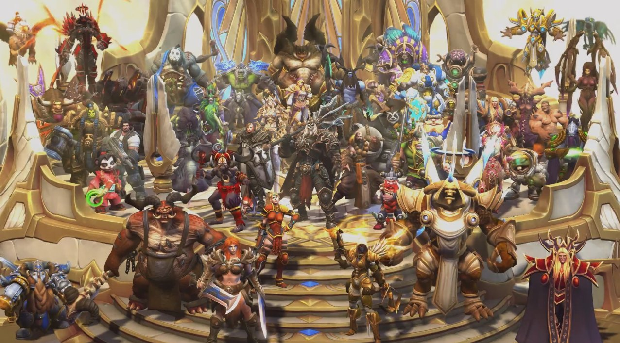 Heroes of the storm gets fresh video with leoric the - Heroes of the storm space lord leoric ...