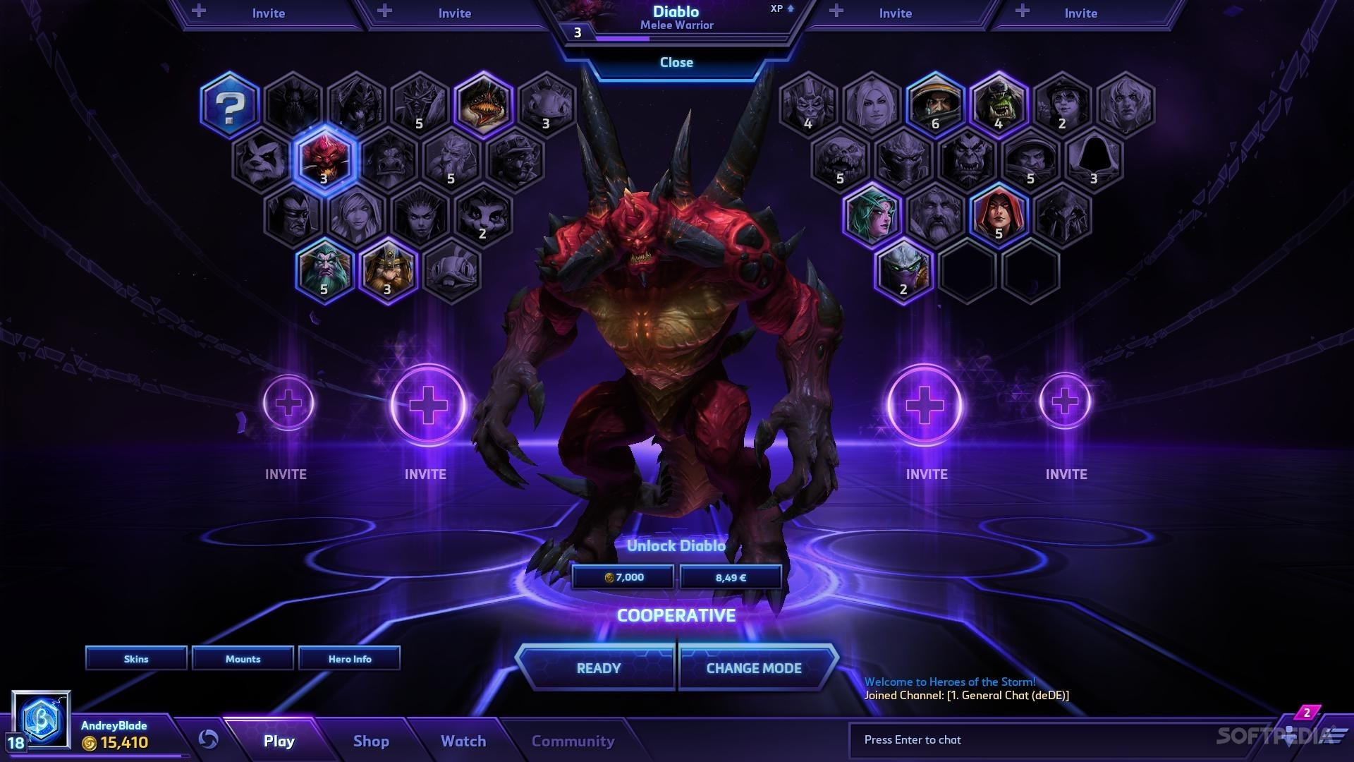Hots free to play