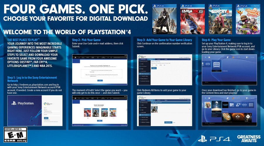 Hot Deal: PlayStation 4 Bundle with Free <b>Digital Game</b> Available ...