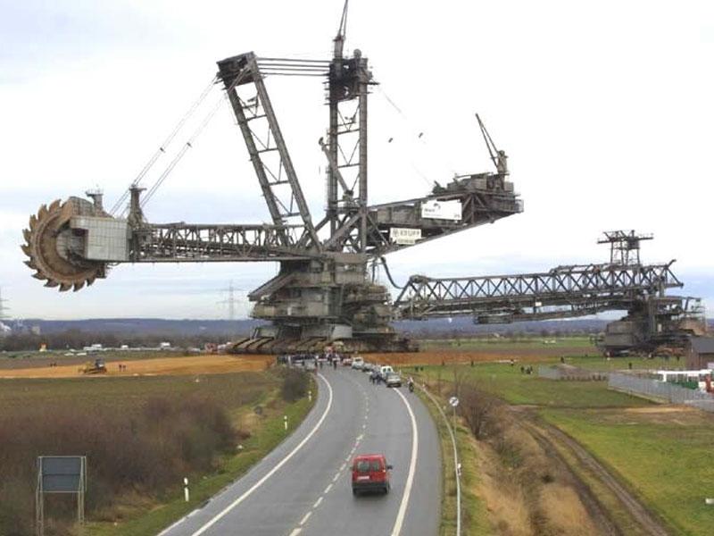 escavatori takraf macchinari industriali How-Does-the-World-039-s-Largest-Land-Vehicle-Work-2