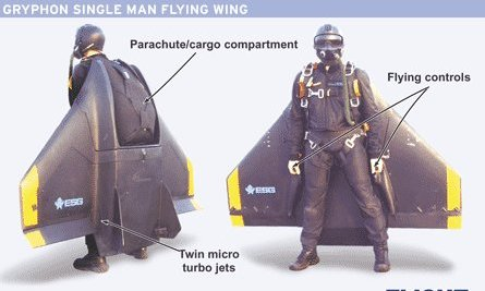 How to Fly Like James Bond: The Jet Pack Flying Wing