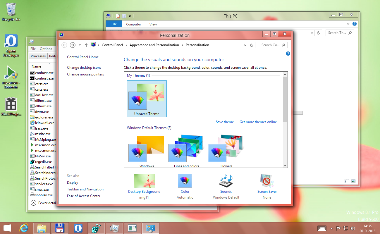 how to install aero glass windows 8.1