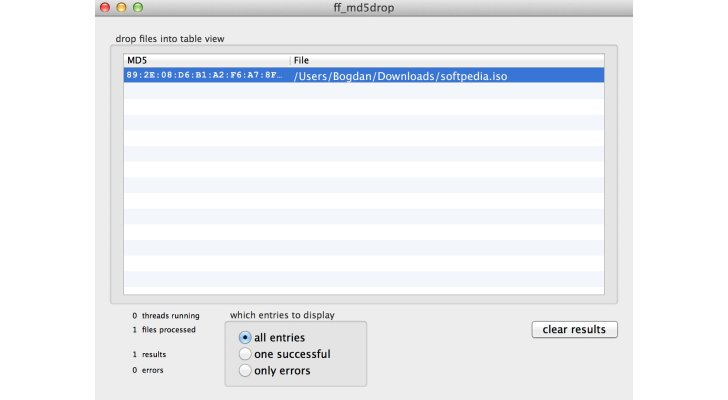 How to Check MD5 Sum on Mac OS X