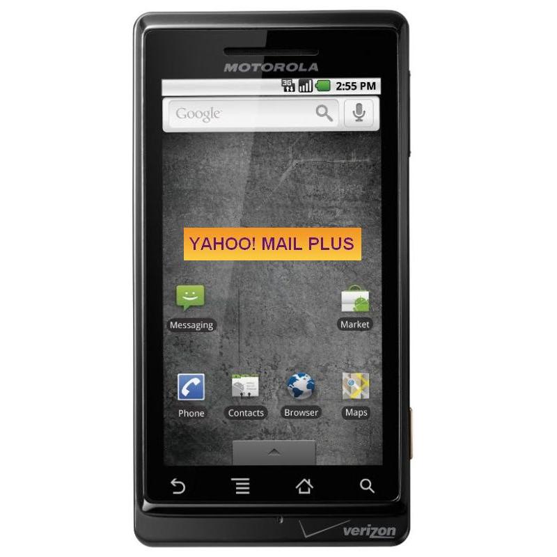 How to Setup Yahoo Mail on Motorola DROID