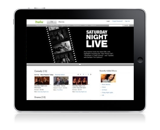 Hulu App Coming to iPad, Subscription Planned (Unconfirmed)