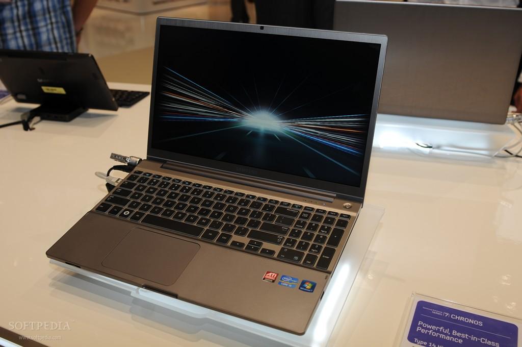 ifa 2011 hands on with samsung s series 7 chronos laptop rh news softpedia com Samsung Laptops Performance Samsung Laptops Performance