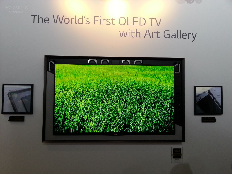 IFA 2013: LG Art Gallery OLED Displays Close-Up