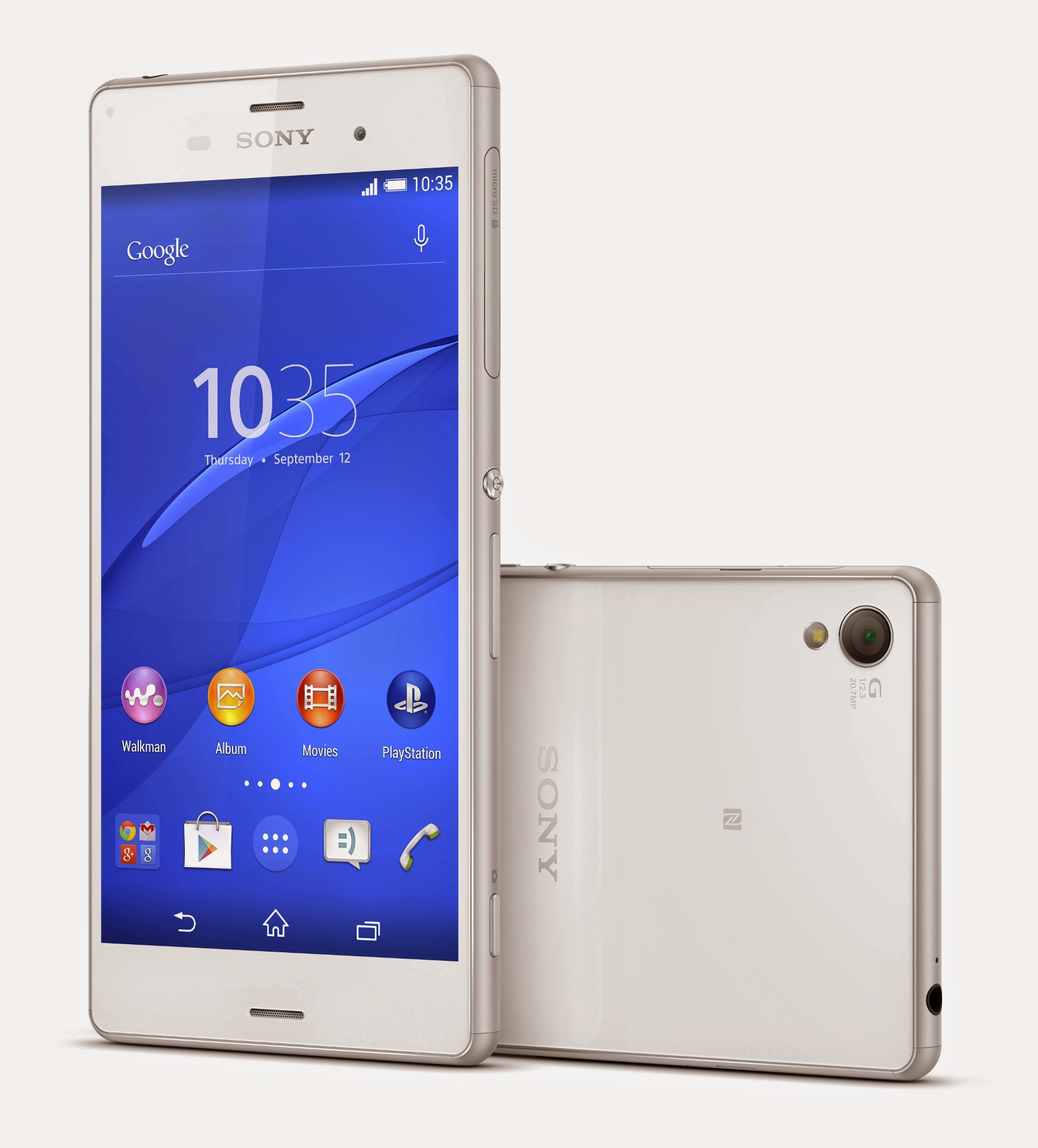 ifa 2014 sony xperia z3 and xperia z3 compact officially. Black Bedroom Furniture Sets. Home Design Ideas