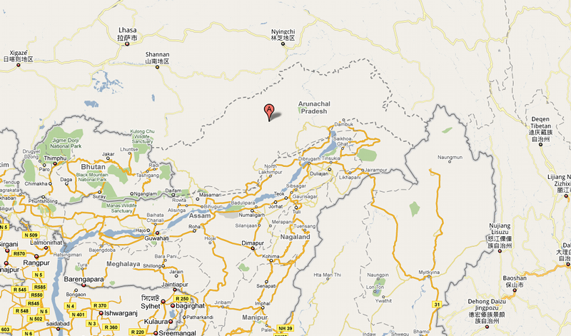 India and China Get Their Own Google Maps Version