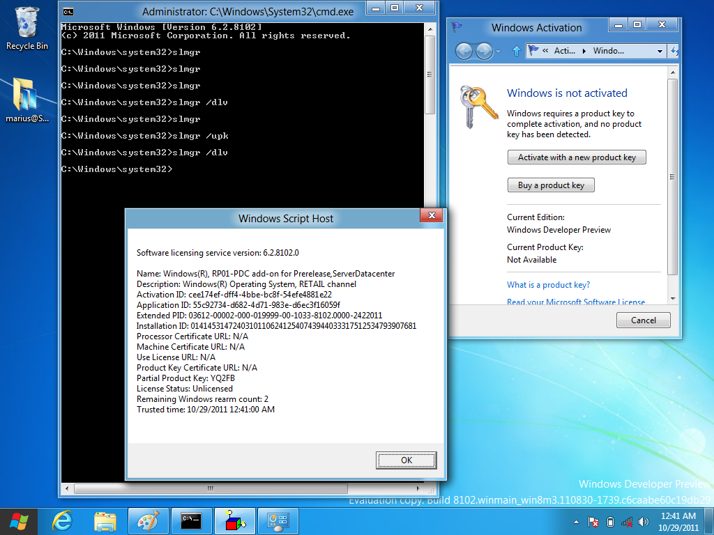 activate windows 7 with windows 8 product key