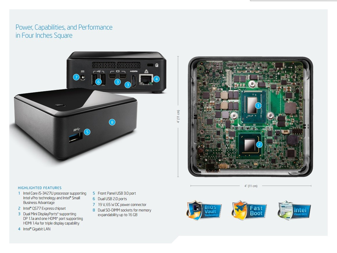 INTEL D53427RKE NUC BOARD RECOVERY DRIVER FREE