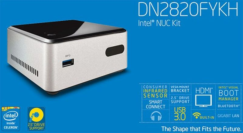 Intel DN2820FYKH NUC Benefits from BIOS 0041 – Download Now