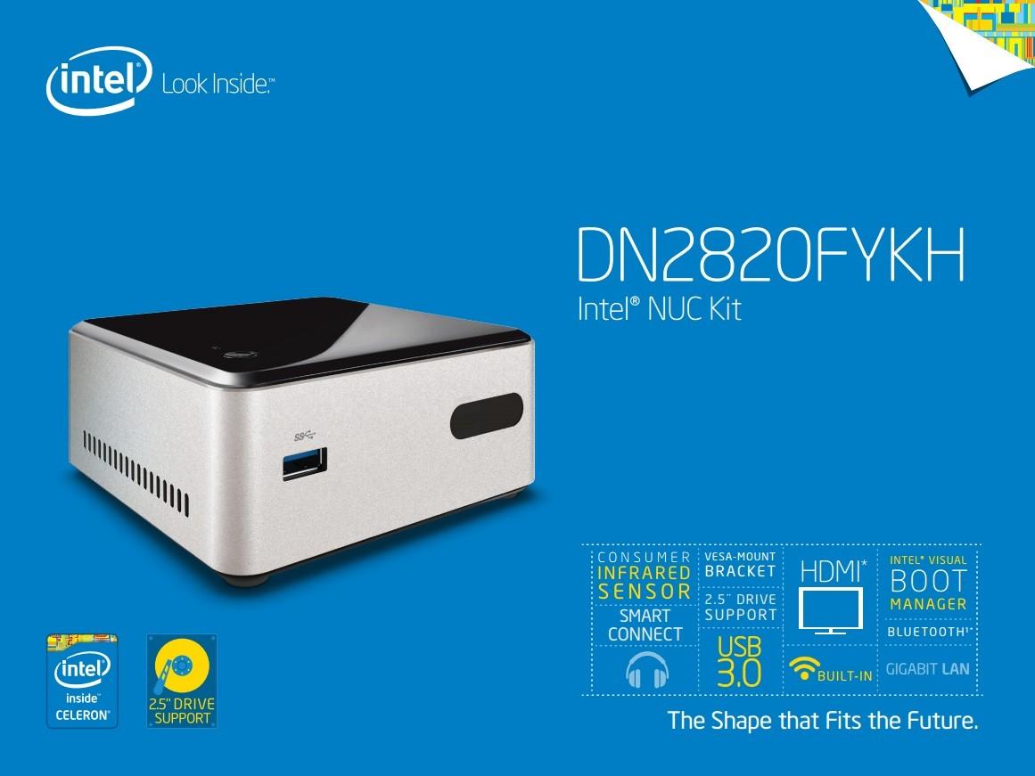 Intel DN2820FYKH NUC Kit Receives BIOS Version 0048 - Download Now