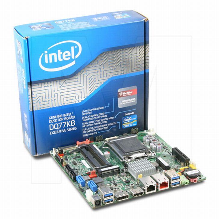 Intel DQ77KB Desktop Board Drivers (2019)