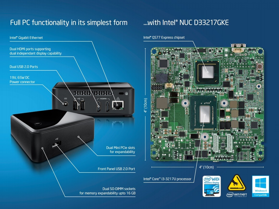 Intel NUCs Receive Gigabit Ethernet Controller Driver 19 5