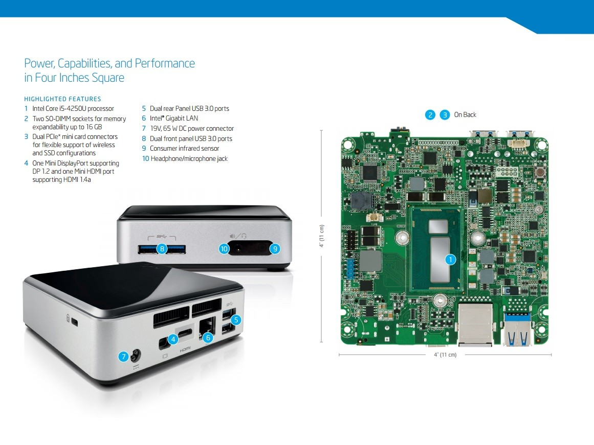 Intel D34010WYK NUC Kit Recovery Drivers Update