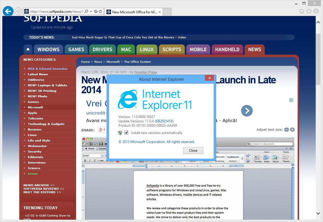 internet explorer download for windows 8.1