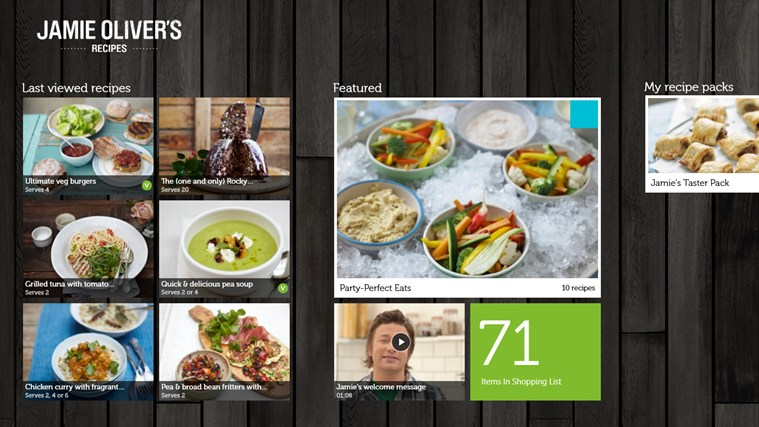 Jamie olivers recipes app now available on windows 81 the application offers support for all windows 81 users forumfinder Gallery