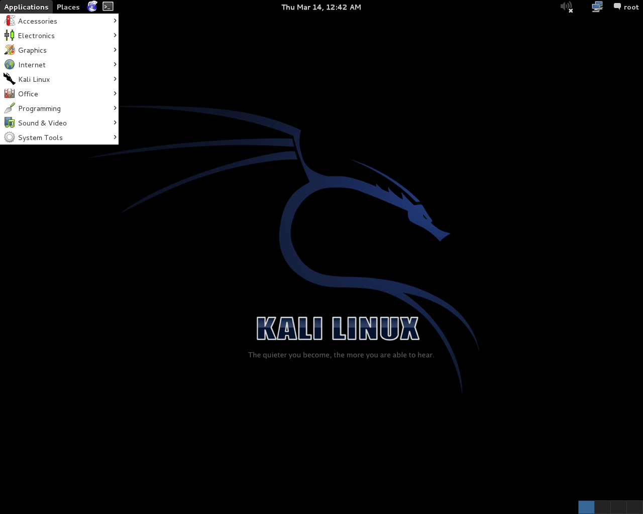 Kali Linux 1 0 3 Brings Accessibility Features for Blind Users