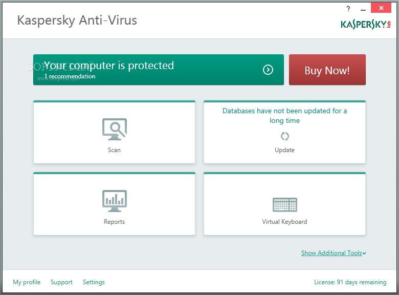 kaspersky free antivirus for windows xp
