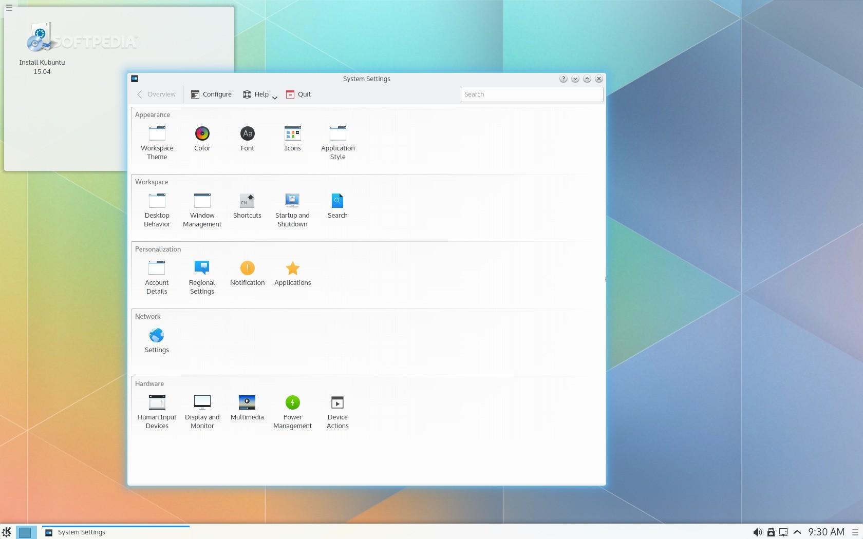 Updating kubuntu more accommodating
