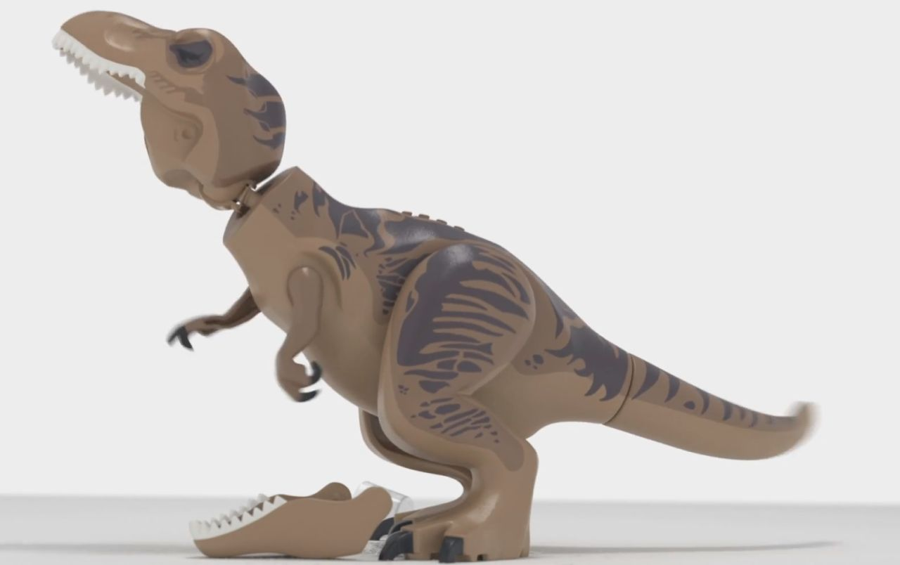 LEGO Jurassic World Teaser Features Jaw-Dropping T-Rex
