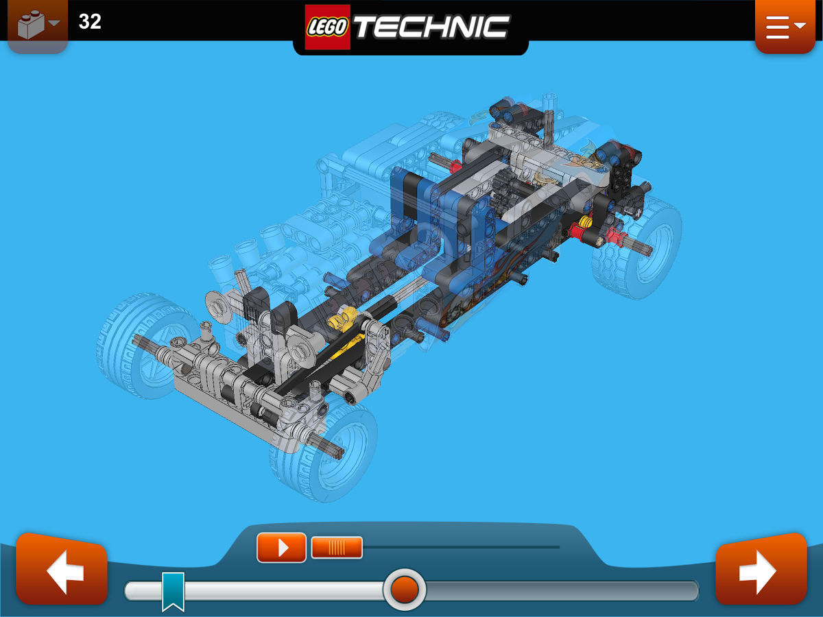 LEGO Launches Car-Building Instruction App for Older Tablets