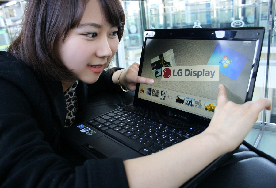 Lg Displays In Cell Touch Panel Gets Win 7 Certification