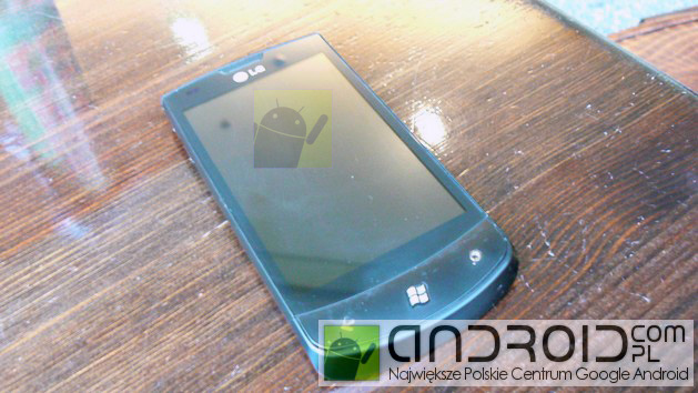 LG E900 with Windows Phone 7 to Pack 1 3GHz CPU [Update]