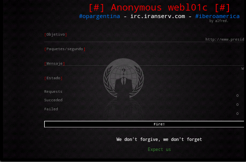 LOIC DDOS Attack Tool Migrated to Android