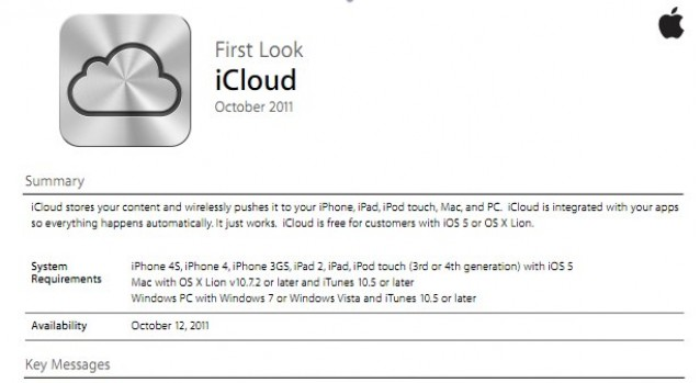 Leaked Internal Documents Reveal iCloud System Requirements
