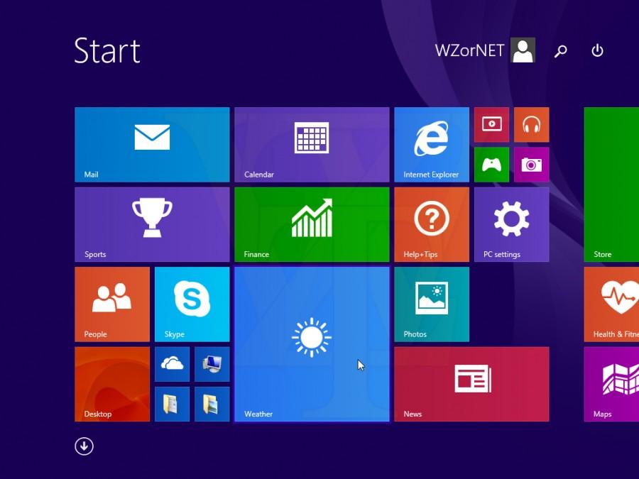 Leaked Windows 8 1 Update 1 Screenshots Reveal Start