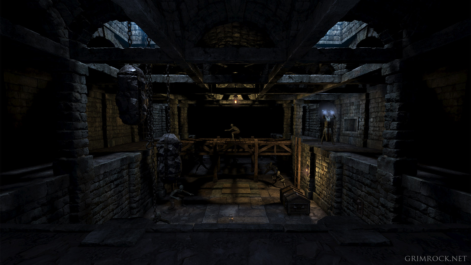 Legend of grimrock 2 promises smarter monsters more interesting puzzles grim future publicscrutiny Images