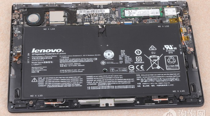 Lenovo Yoga 3 Pro Gets Teardown Treatment, Shows Swappable Battery, SSD