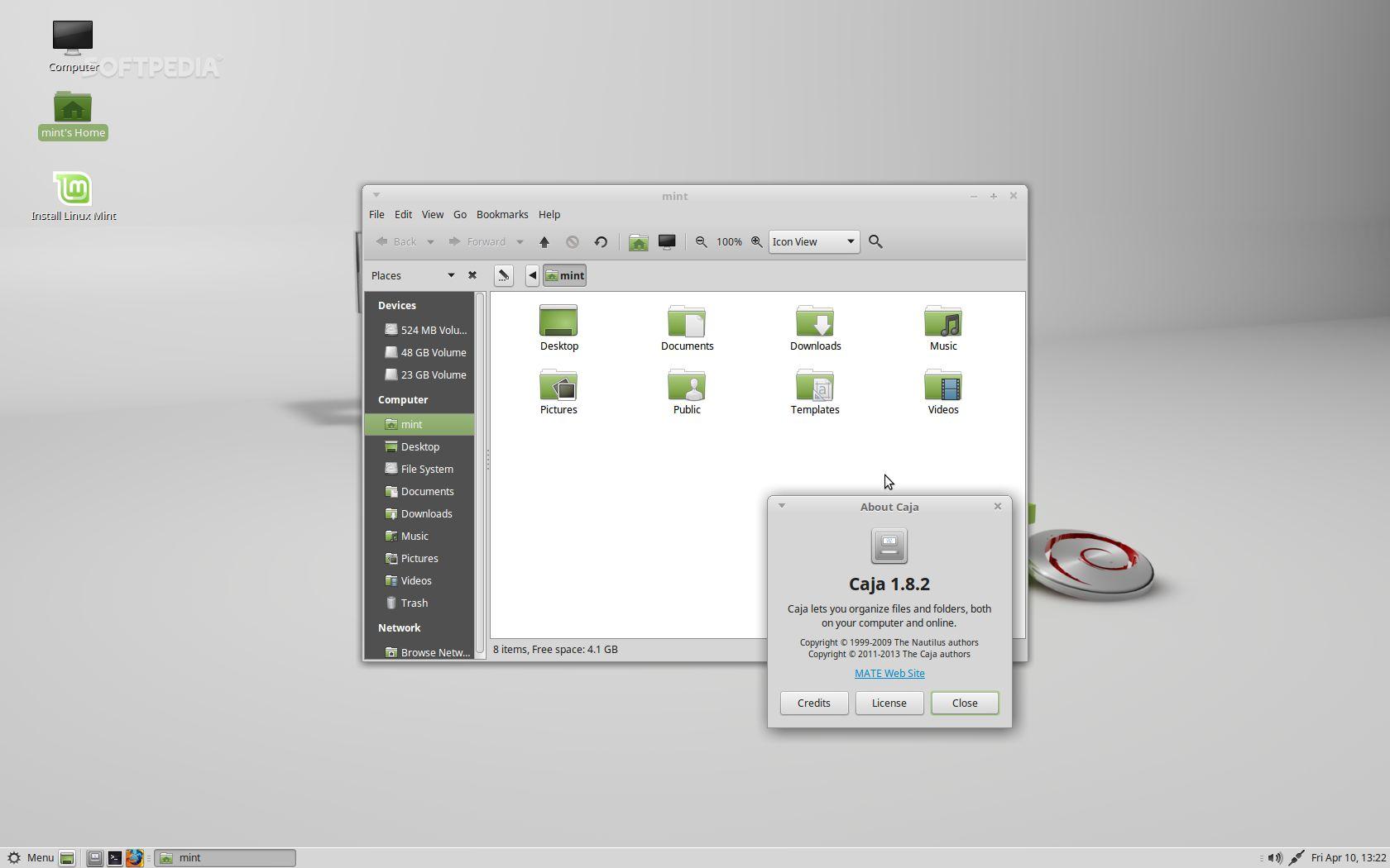 linux mint debian mate download
