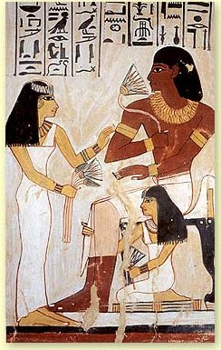 Lotus cultural and medicinal importance fresco of ancient egyptians with lotus flowers mightylinksfo