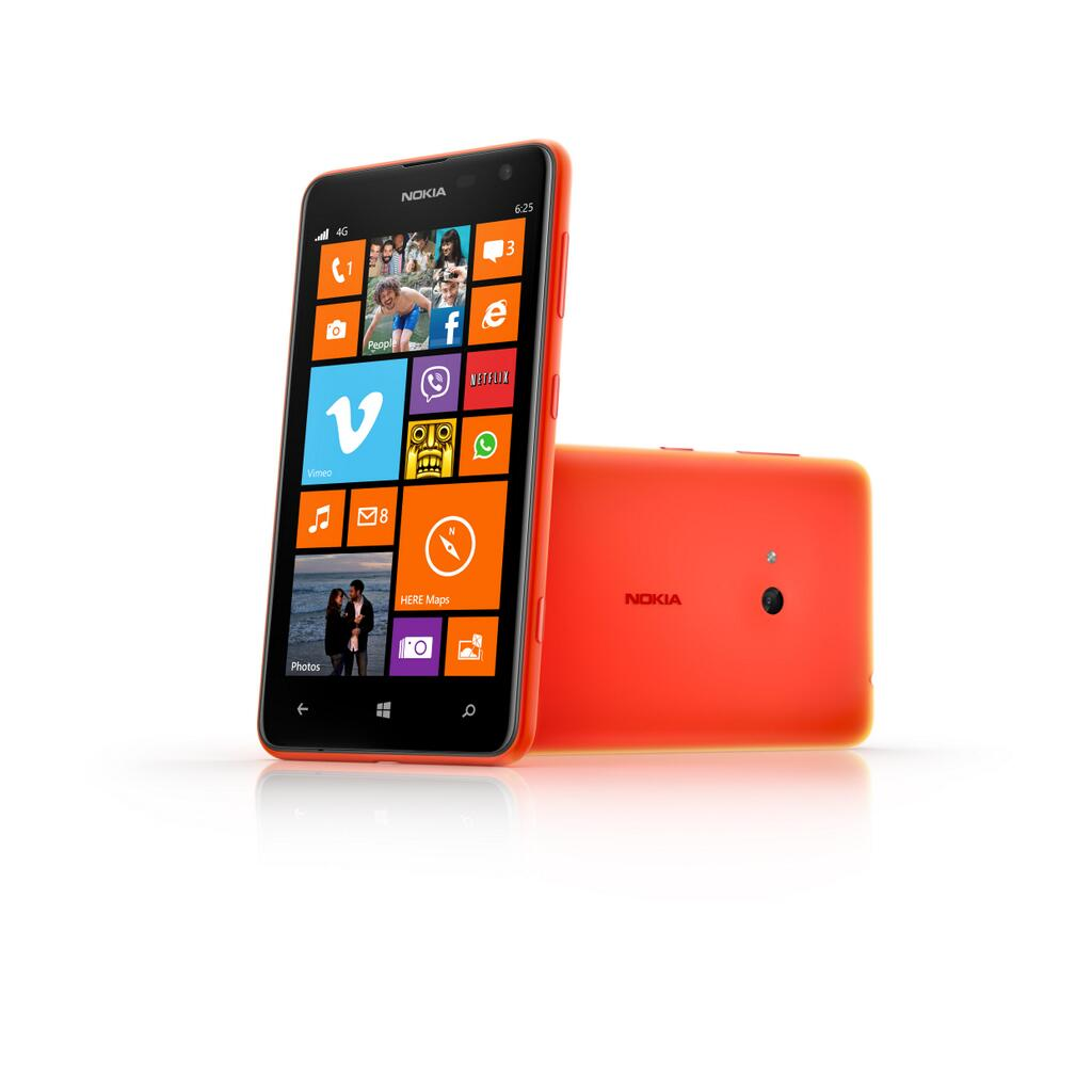 Lumia Cyan Now Arriving On Nokia 625 At Rogers Canada Xl
