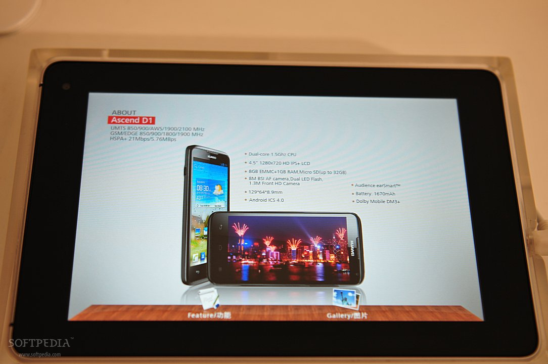 MWC 2012: Huawei Ascend D lte and Ascend D1 Hands-On