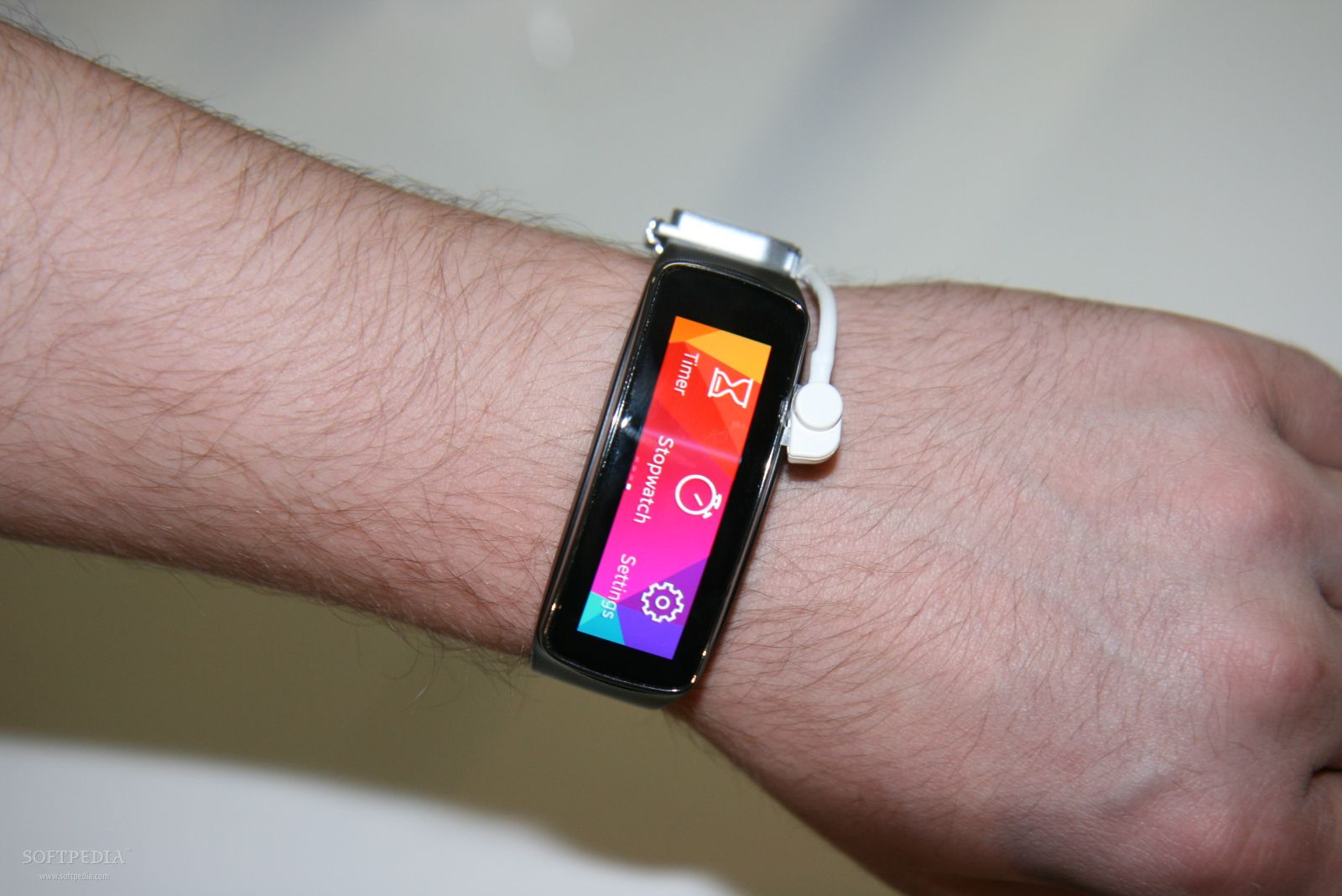 Samsung gear fit smartband iphone