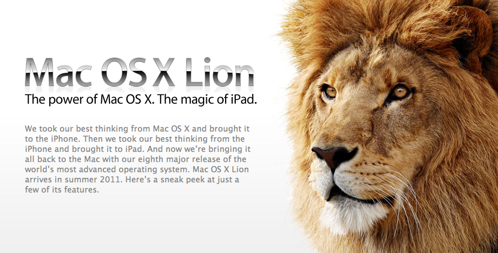 Mac OS X 10 7 Download Availability Now Slated for July 6th
