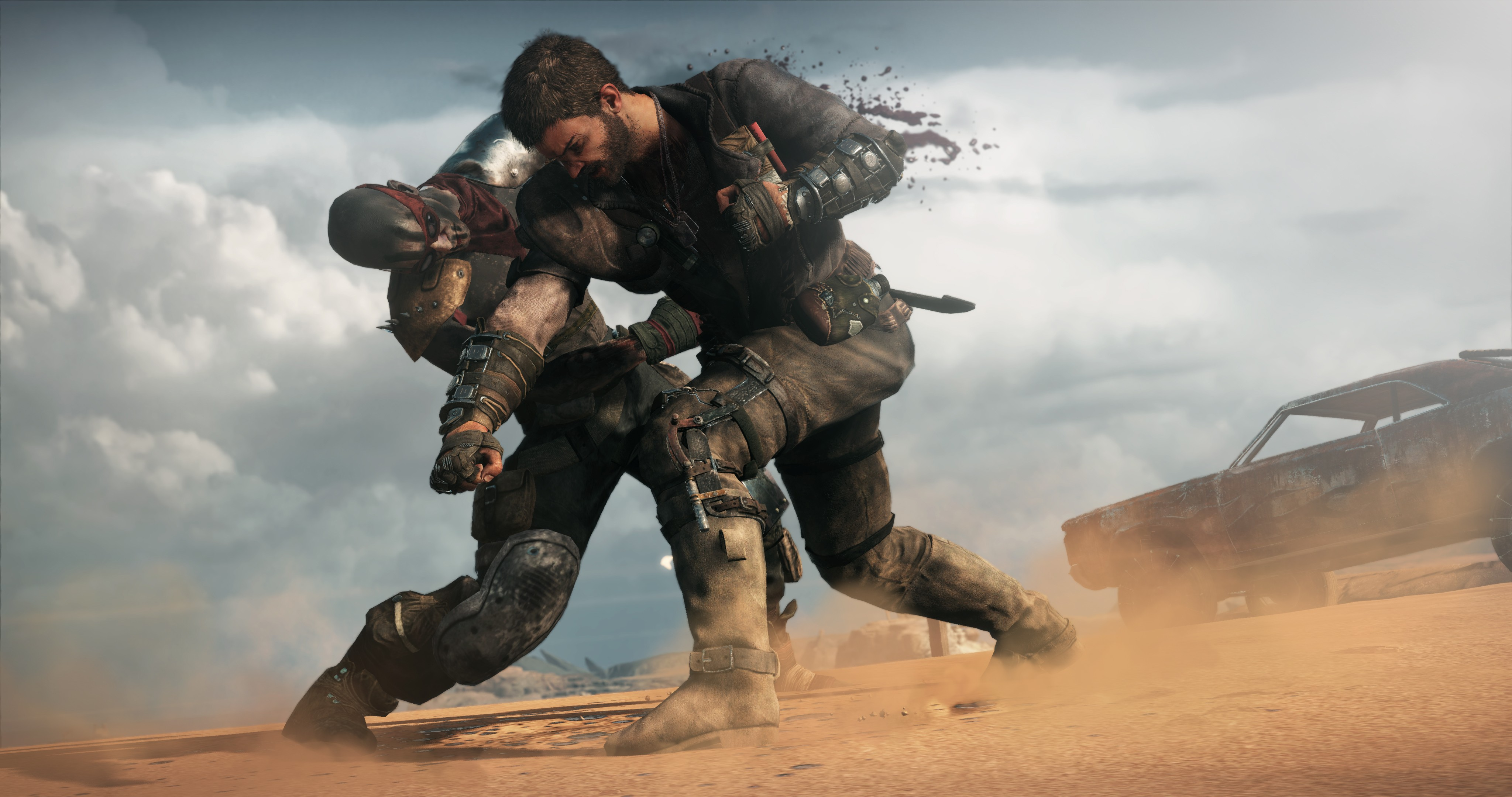 Fight Against Others In Mad Max