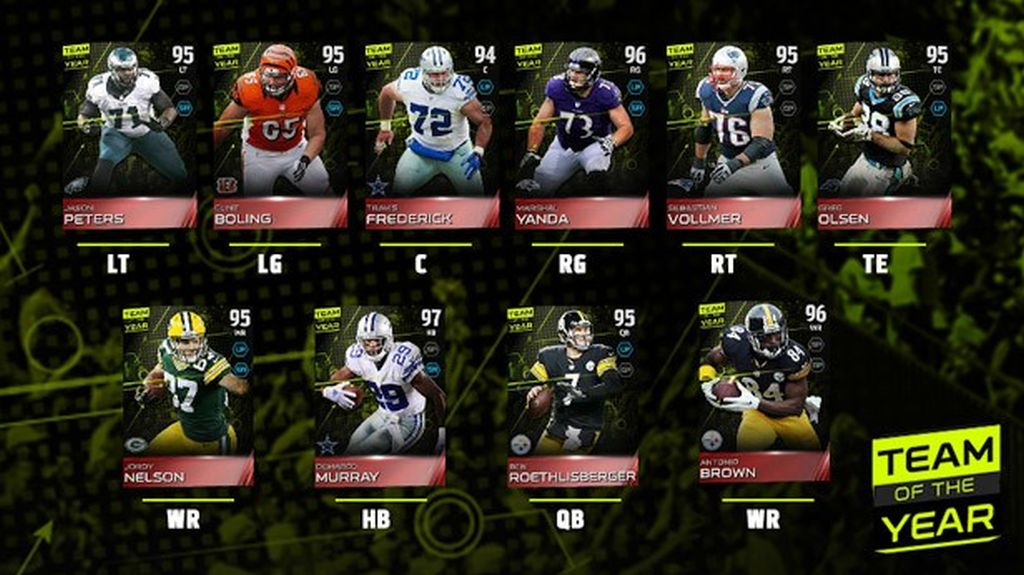 madden nfl 15 introduces its first ever team of the year