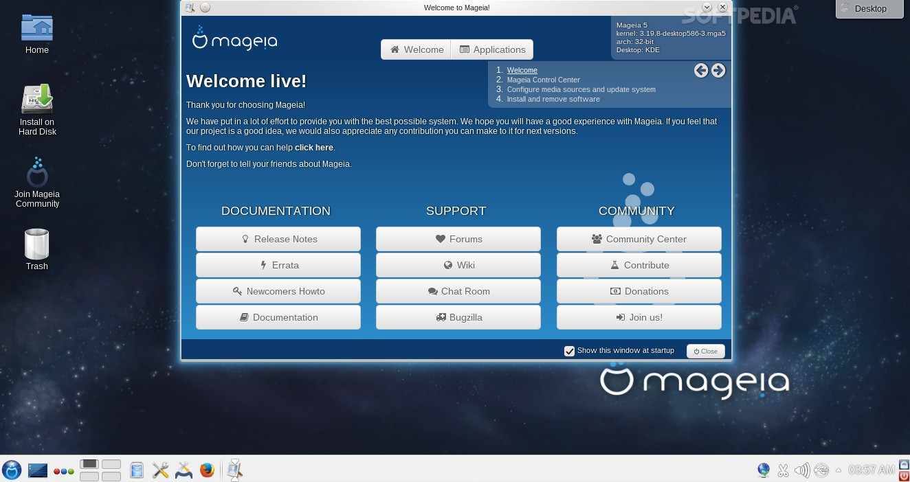 linux mageia 5